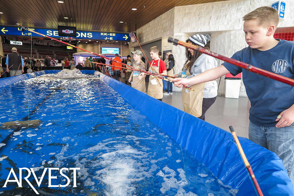 World's Greatest Trout Tank | Brought To You By: Arvest Bank